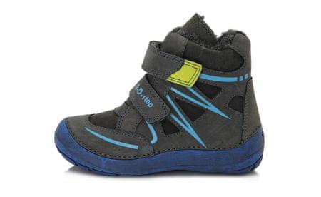 D-D-step otroška zimska obutev, 35, temno sivi