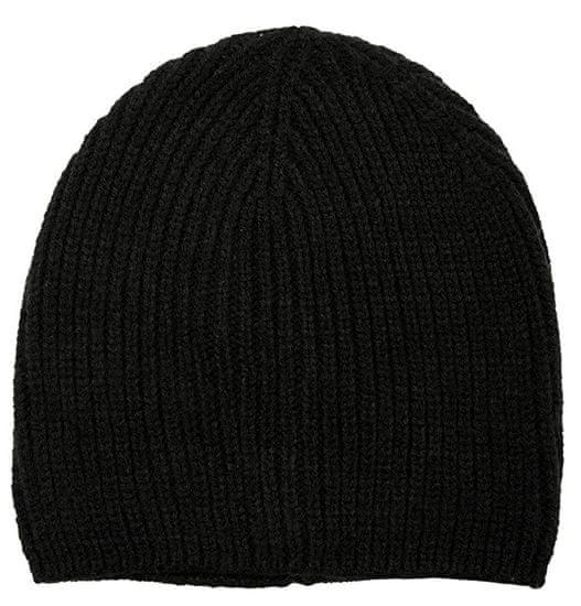 s.Oliver Dámska čiapka KNIT CAP Black 39.910.92.3390 .9999