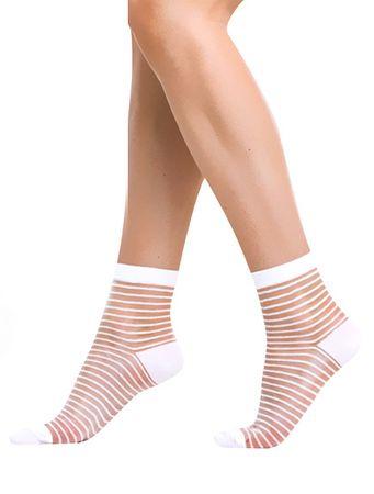 Bellinda Skarpety damskie Modne Socks paski BE202400 (rozmiar 35-38)