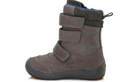 D-D-step fantovski zimski čevlji 25, sivi
