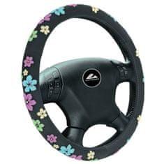 Automax Potah na volant KVĚTINY M NEW