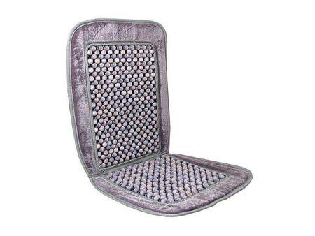 Automax Potah na sedadlo kuličkový - šedý