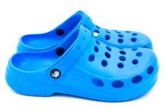 Dámské clogsy FLAMEshoes A-002 Hole Blue