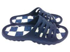 Pánské pantofle FLAMEshoes A-1018 modré