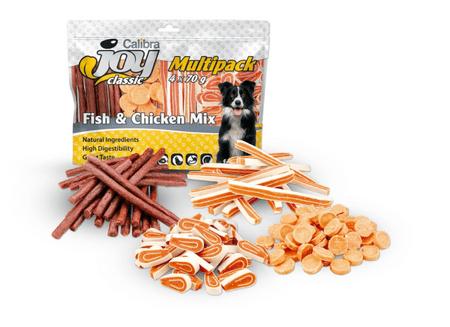 Calibra Joy Dog Multipack grickalice za pse, riba i piletina mix, 4 x 70 g
