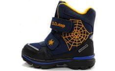D-D-step chlapecká zimní obuv