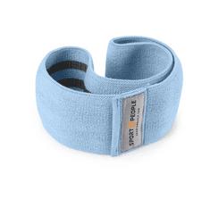 Sport2People tekstilna elastika za vježbanje, S, nebo plava