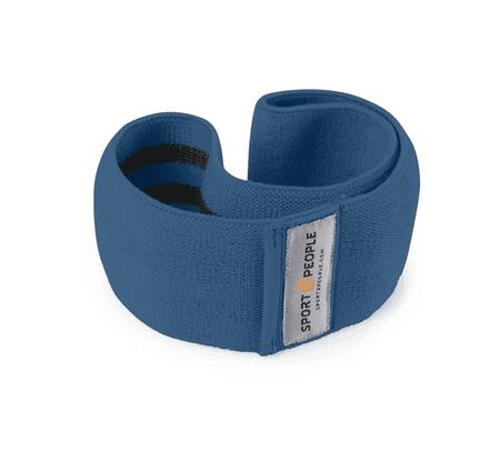Sport2People tekstilna elastika za vadbo, M, temno modra - Odprta embalaža