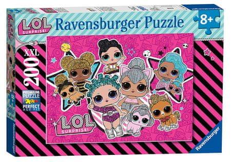 Ravensburger L.O.L. Moč deklet sestavljanka, 200 kosov