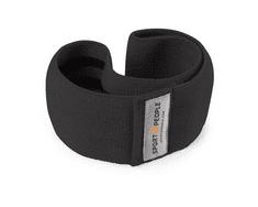 Sport2People tekstilna elastika za vadbo, L, črna