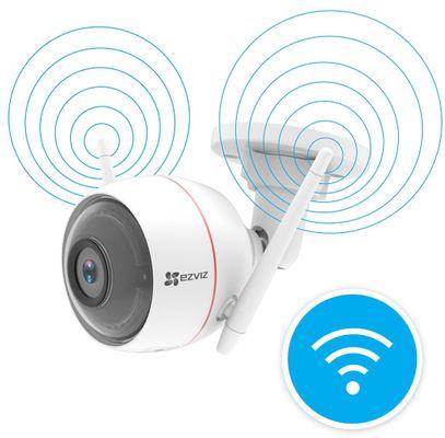 Bezpečnostní IP kamera EZVIZ C3W HD, cloudové úložiště, paměťová karta, živé sledování