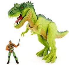 Wiky Dinosaurus set Corps 32 cm Zelený