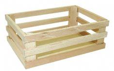 TOP BRIGHT Dřevěná bedýnka 16x11x6cm