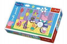 Trefl Puzzle Prasátko Peppa na plese 60 dílků