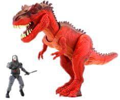 Wiky Dinosaurus set Corps 32 cm Červený