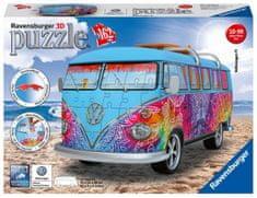 Ravensburger VW Bus T1 Indianské léto 162 dílků 3D