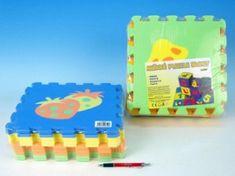 Wiky Pěnové puzzle Ovoce 30x30cm