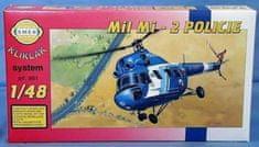 Směr Model Vrtulník Mi 2 - Policie 1:48
