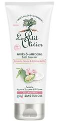 Le Petit Olivier Zmiękczanie odżywka do włosów normalnych, mleka migdałowego i ryżu śmietany (Conditioner) 200 ml