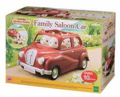 Sylvanian Families - Rodinné auto červené