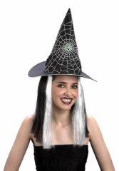 Alltoys Čarodějnický klobouk s vlasy