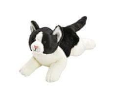 Suki Yomiko kočka černo-bílá plyšová střední (35cm) SUKI