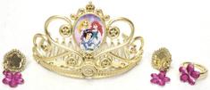 BOLEY Disney princezny - Zlatá korunka a šperky pro princeznu