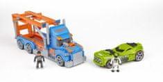 MEGA BLOKS Micro - Hot Wheels - Kamion autocar s autem