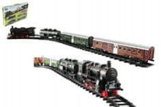 Teddies Vlak + 3 vagóny s kolejemi 24 ks