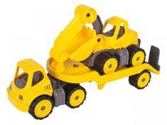 BIG BIG Power Worker Mini Transportér s bagrem 41 cm