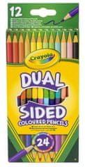 Crayola Albi Crayola Oboustranné pastelky