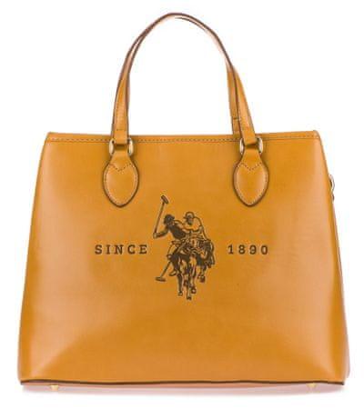 U.S. POLO ASSN. Folsom Large double handle táska sárga