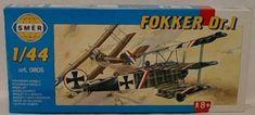 Směr Model Fokker Dr.1 1:44