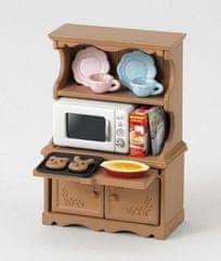 Sylvanian Families Sylvanian Families - Vybavení skříň s mikrovlnou troubou