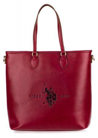 U.S. Polo Assn. Folsom Tall Shopping ženska torbica, crvena