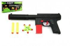 Teddies Pistole na pěnové náboje plast 30cm