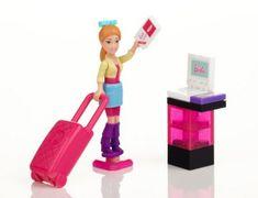 MEGA BLOKS Micro - Barbie figurky, set 12ks, cena za jeden kus