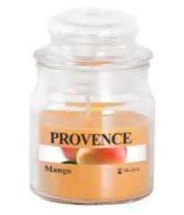 PROVENCE Sviečka v skle s viečkom 70 g, mango