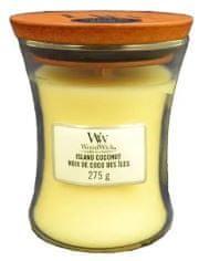 Woodwick Island Coconut 275,0 gr váza stredná