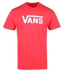 Vans pánské tričko MN VANS CLASSIC HIBISCUS/WHITE