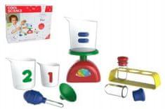 TM Toys Cool Science Váha s příslušenstvím