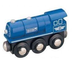 Maxim 50813 Parní lokomotiva - modrá