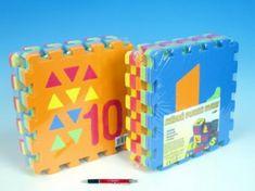 Wiky Pěnové puzzle Počítání/Tvary 30x30cm 10ks