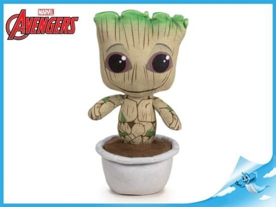 Mikro Trading Baby Groot 28cm plyšový stojící 0m+