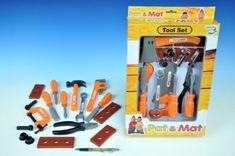 Mikro Trading Sada nářadí plast 1 Pat a Mat