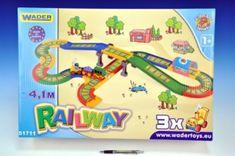 Wader Kid Cars - Železnice s městem 4,1m