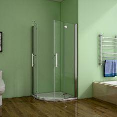 H K Štvrťkruhový sprchovací kút MELODY S4