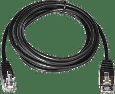 Virtuos kábel RJ12 24V pre pripojenie pokladničnej zásuvky k tlačiarni, 1,1 m, čierny (EKA0518)