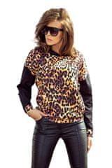 Numoco Klokaní mikina - leopard