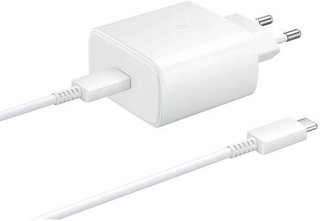 Samsung ładowarka EP TA845XW Ultra Fast Charge 45W, White, EP TA845XWEGWW